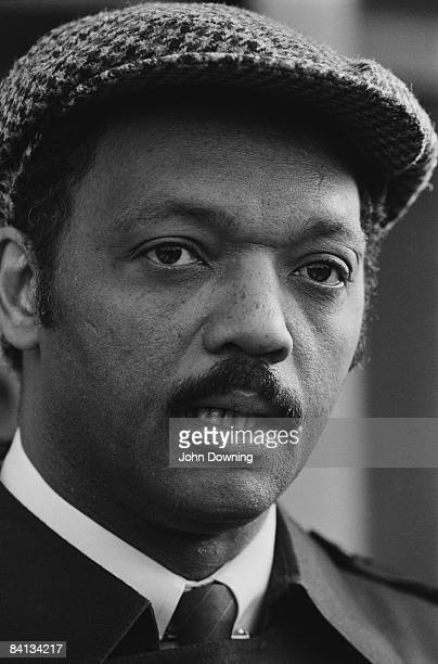 American minister and civil rights activist Jesse Jackson 4th November 1985