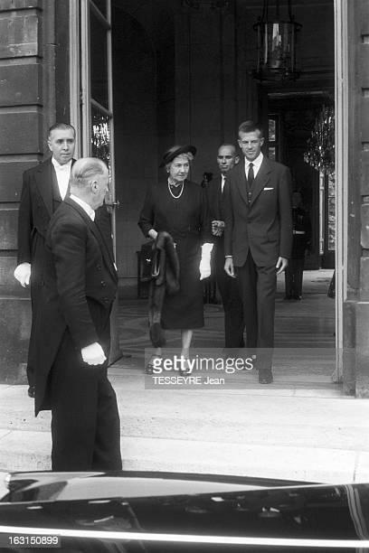 American Minister Of Foreign Affairs John Foster Dulles To Visit Paris En juillet 1958 dans le cadre d'une visite à Paris du ministre des Affaires...