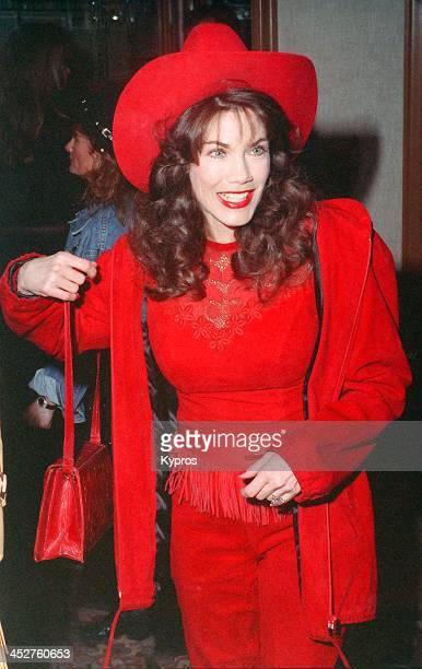 American model actress and singer Barbi Benton circa 1990