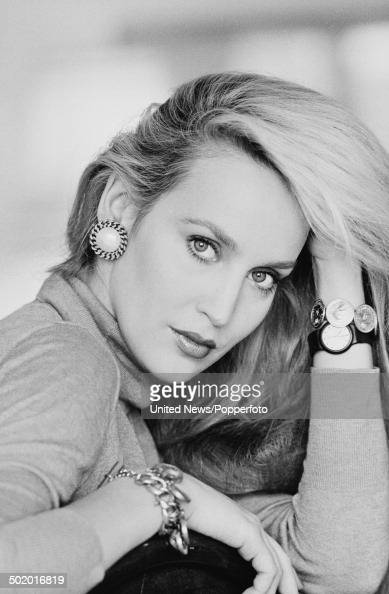 American model and actress Jerry Hall posed in London on 2nd October 1984