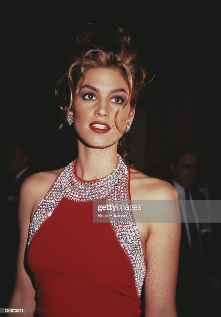 American model Cindy Crawford 1993