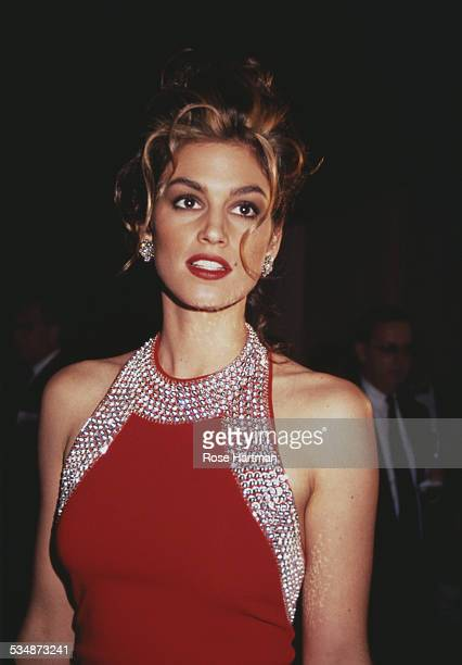 American model Cindy Crawford 1993