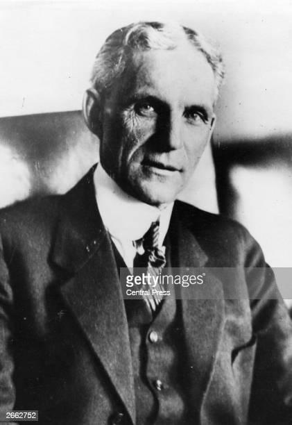 American motor manufacturer Henry Ford