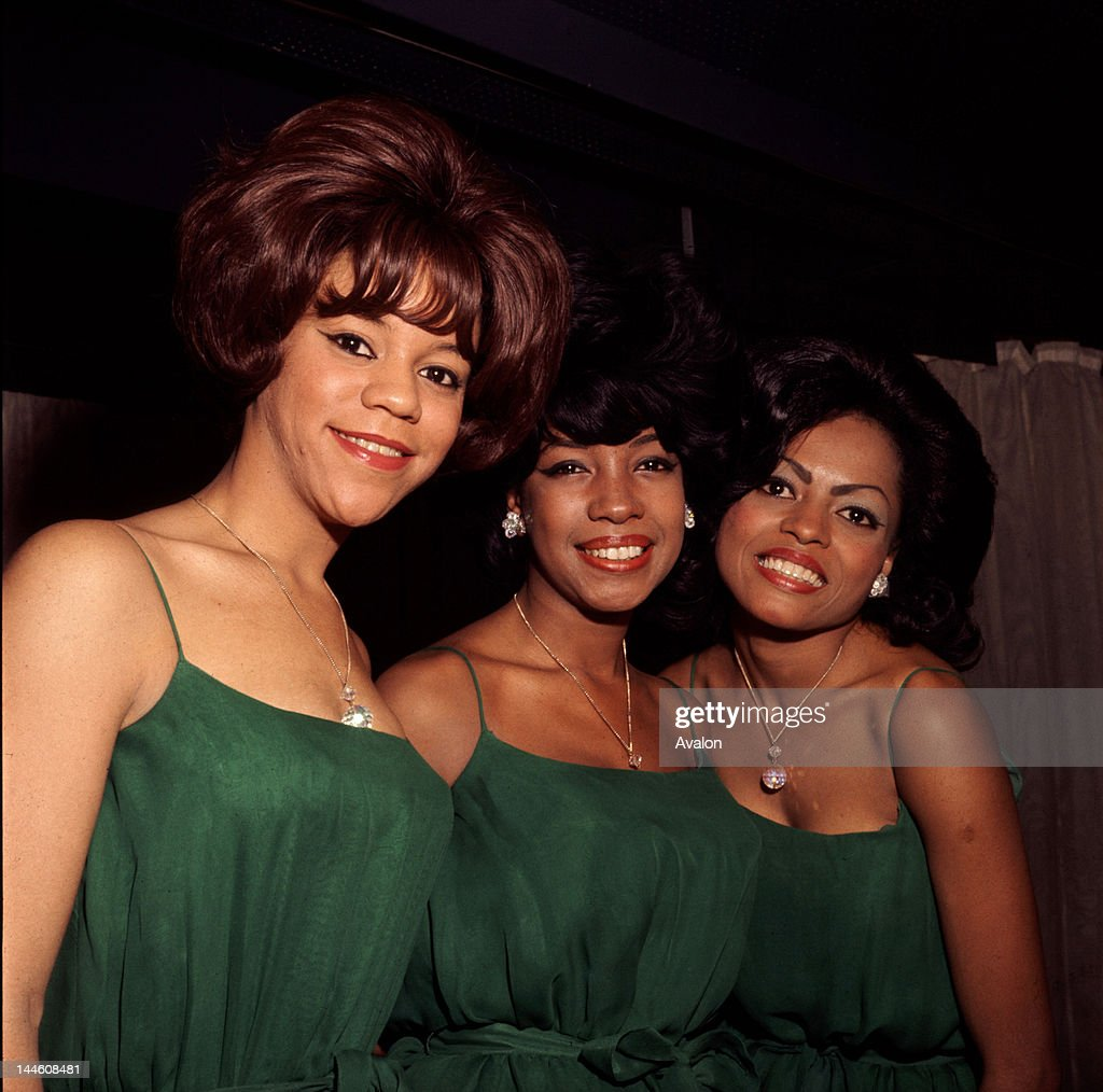 American Motown trio The Supremes photographed in 1965 Florence Ballard Mary Wilson and Diana Ross Job 79140 Ref KCN