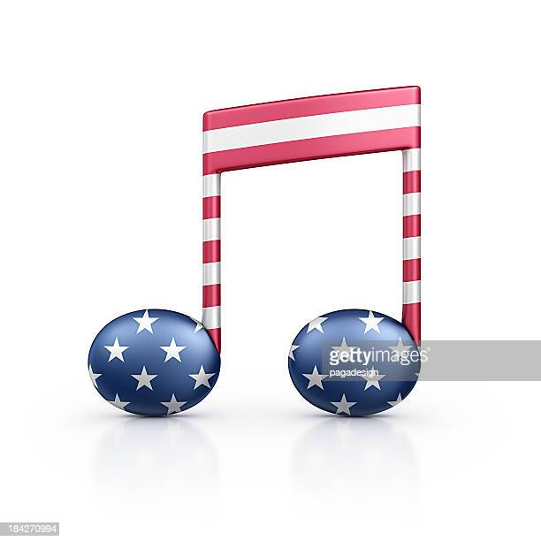 american musical note
