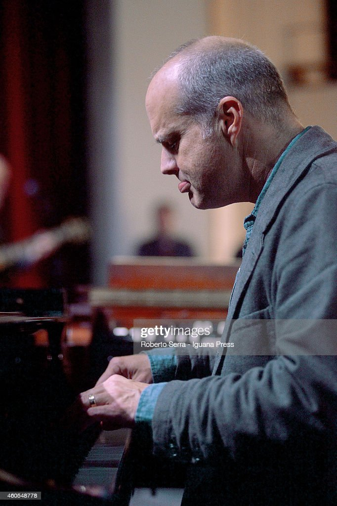 American musician and author John Medeski perform with the american guitarist John Scofield for Bologna Jazz Festival at Duse Theatre on November 20...