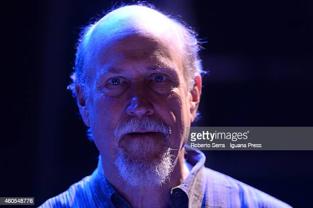 American musician and author John Scofield perform with the american organist John Medeski for Bologna Jazz Festival at Duse Theatre on November 20...