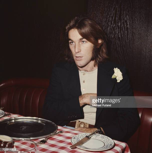 American musician Dennis Wilson of American pop group The Beach Boys London December 1970