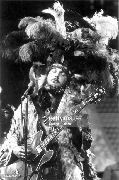 American musician Dr John performs live on stage at the Montreux Jazz Festival in Montreux Switzerland 1st July 1973