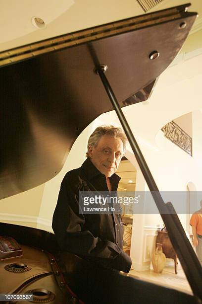American musician Frankie Valli poses at a portrait session for the Los Angeles Times in Calabasas CA on April 28 2008 Published Image CREDIT MUST...