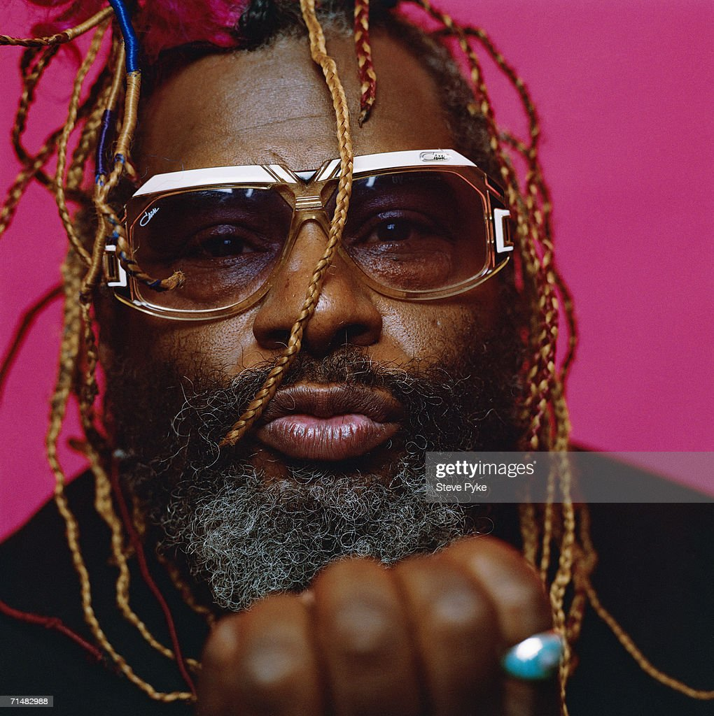 American musician George Clinton, the 'forefather of funk', 1995.