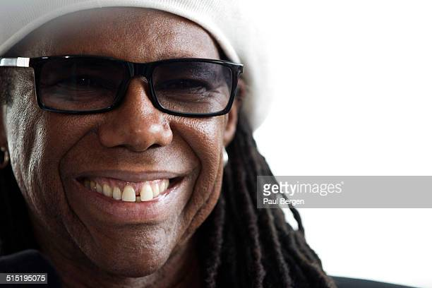 American musician guitarist producer and songwriter Nile Rodgers portrait Rotterdam 13 July 2014