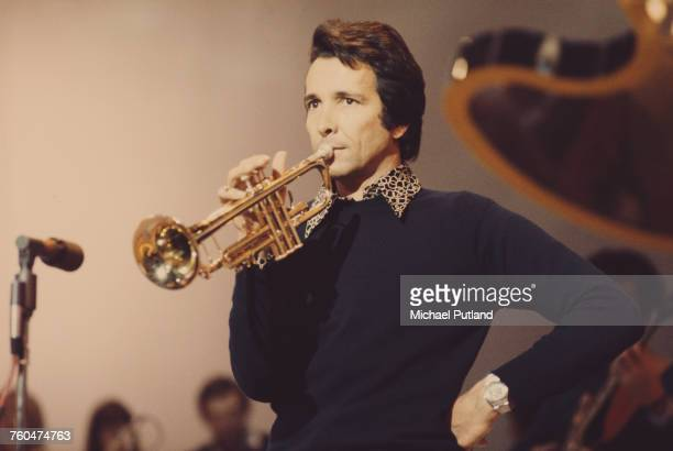 American musician Herb Alpert on his European Tour with the TJB a new band formed from some of the former members of Herb Alpert's Tijuana Brass...