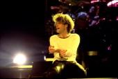 American musician Jon Bon Jovi performs at the Rosemont Horizon Rosemont Illinois March 15 1993