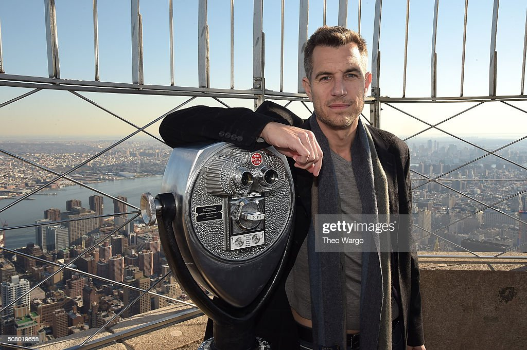 American musician Nick Hexum of 311 Joins The Empire State Building Run Up For MMRF on February 2, 2016 in New York City.