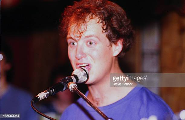 American musician Page McConnell of Phish performs at the Wetlands Preserve nightclub New York New York June 9 1990