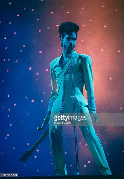 American musician Prince in concert at Earl's Court London 15th June 1992