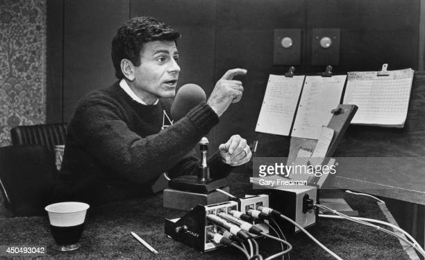 American musician radio personality and actor Casey Kasem for Los Angeles Times on April 29 1984 in Los Angeles California PUBLISHED IMAGE CREDIT...