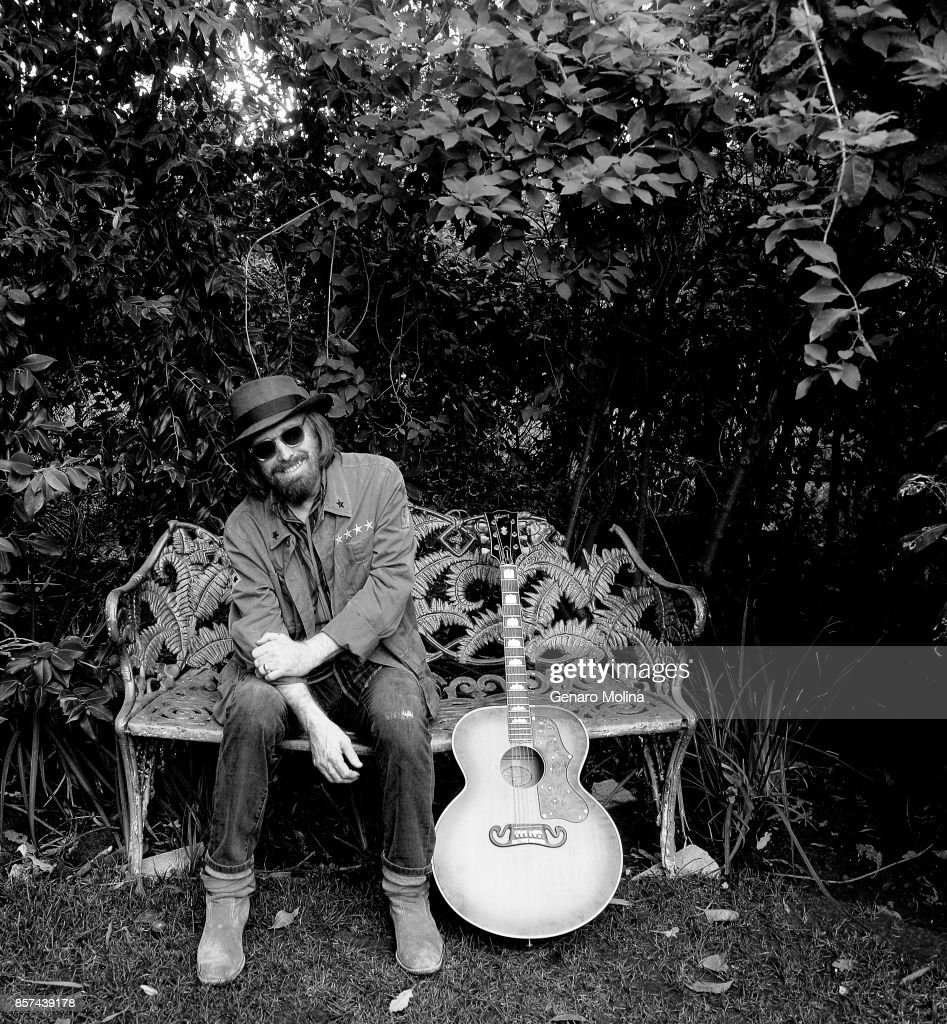 American musician, singer, and songwriter Tom Petty is photographed in his home for Los Angeles Times on September 27, 2017 in Malibu, California. PUBLISHED IMAGE.