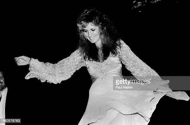 American musician Stevie Nicks attends a Warner Brothers Records event Chicago Illinois July 29 1981
