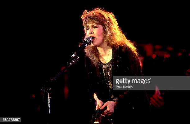 American musician Stevie Nicks performs onstage during the US Festival Ontario California May 30 1983