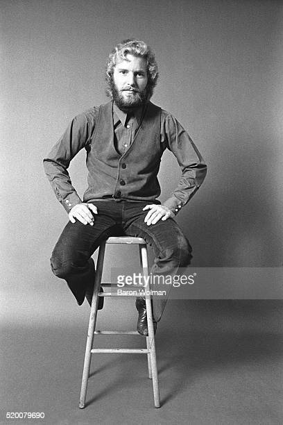 American musician Tom Fogerty of Creedence Clearwater Revival Belvedere Street Studio San Francisco 1970