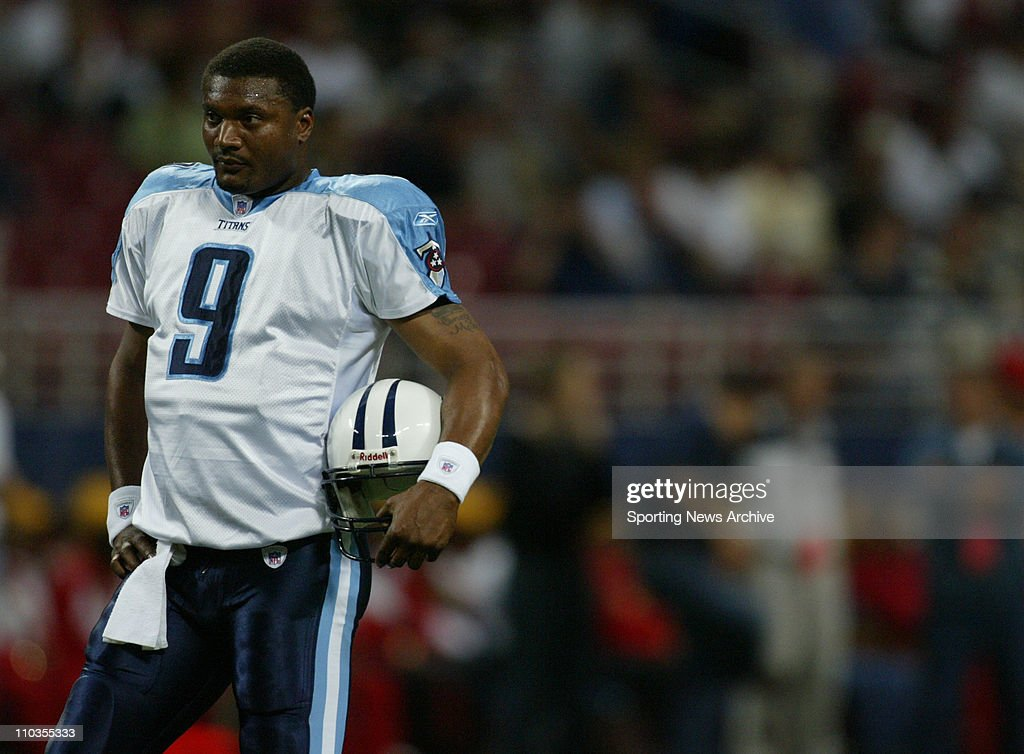 American National Football League quarterback from 19952008 when he retired McNair plaed for the Houston Oilers Tennessee Titans and the Baltimore...