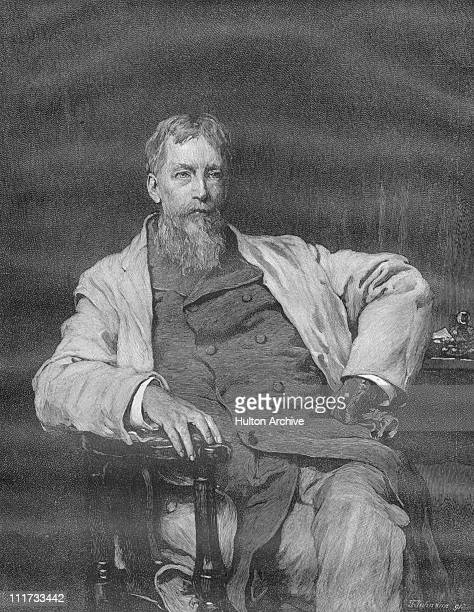 American neurologist and author Silas Weir Mitchell circa 1900 Engraved by T Johnson after a painting by Frank Holl