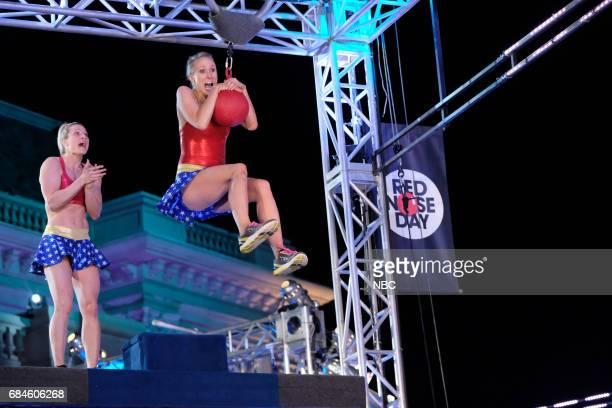 SPECIAL 'American Ninja Warrior' Pictured Jessie Graff Nikki Glaser