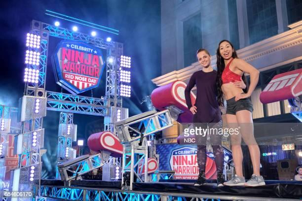 SPECIAL 'American Ninja Warrior' Pictured Mena Suvari Natalie Duran