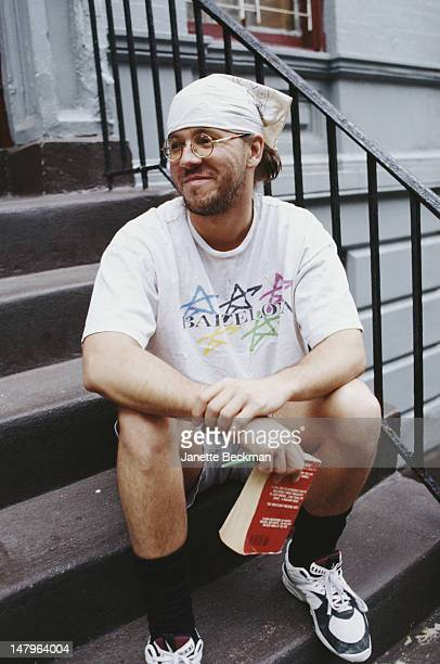 American novelist David Foster Wallace New York City 2005