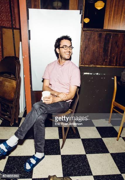 American novelist Jonathan Safran Foer is photographed for Washington Post on September 6 2016 in New York City