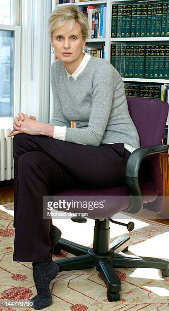 American novelist Siri Hustvedt at her home in Brooklyn New York City 5th March 2006