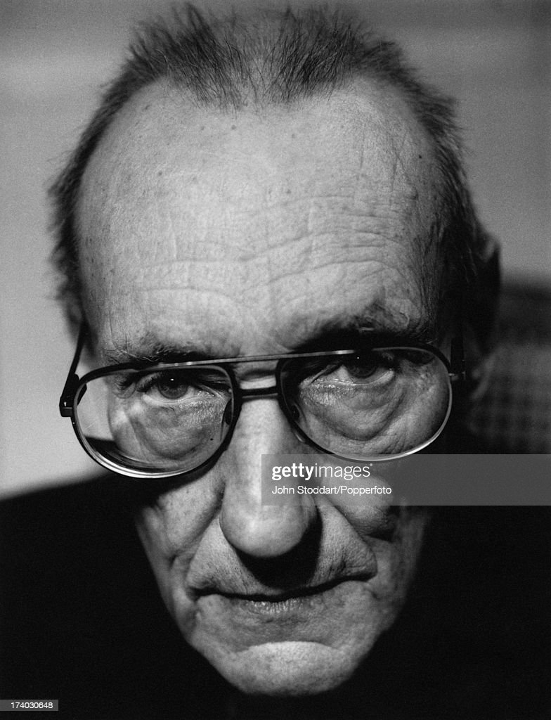 American novelist William S. Burroughs (1914 - 1997), circa 1990.