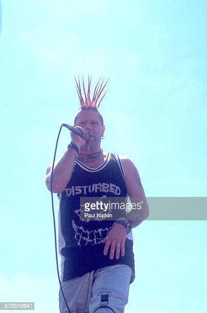 American Nu Metal musician Jett of the band From Zero performs onstage at the World Music Theater Tinley Park Illinois May 2001