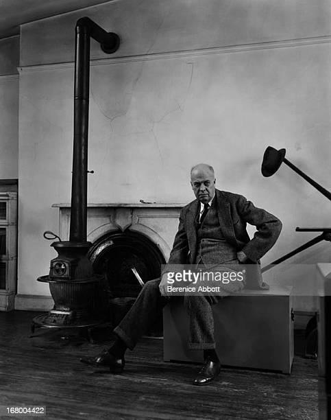 American painter Edward Hopper 1948