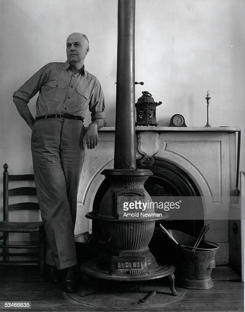 American painter Edward Hopper poses for portrait November 1 1941 in New York