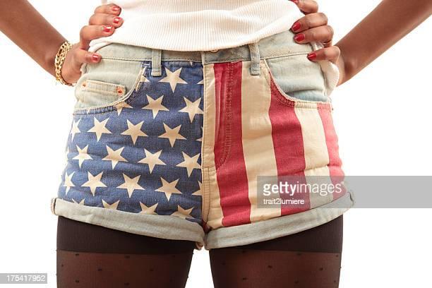 American pair of shorts