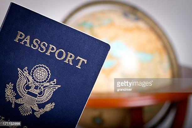 Passaporto americano e Globe
