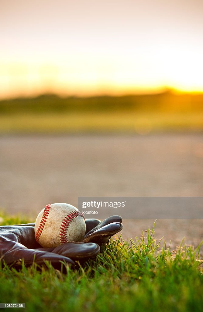 American Pastime--Baseball : Stock Photo