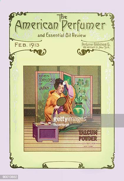 American perfumefragrancer and Essential Oil Review Eden Corylopsis of Japan Talcum Powder