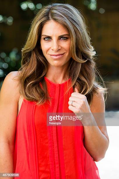 American personal trainer Jillian Michaels poses during a photo shoot on October 23 2014 in Sydney Australia Michaels is in Sydney for her live tour...