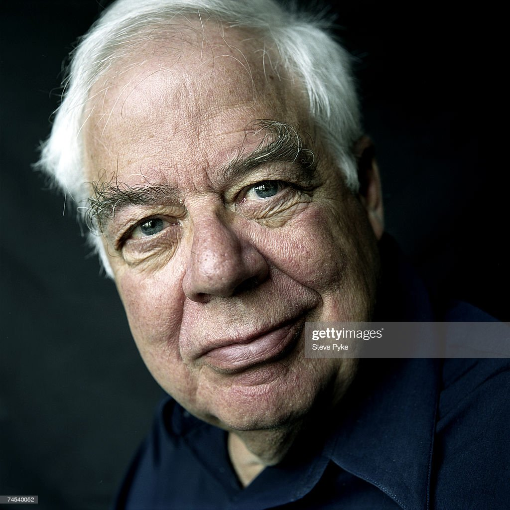 American philosopher Richard Rorty (1931 - 2008) in Oxford, 7th May 2003.