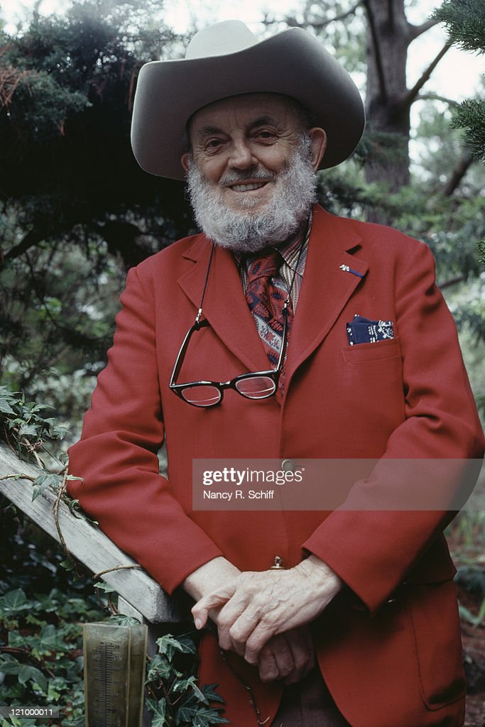 American photographer Ansel Adams (1902 - 1984), 1982.