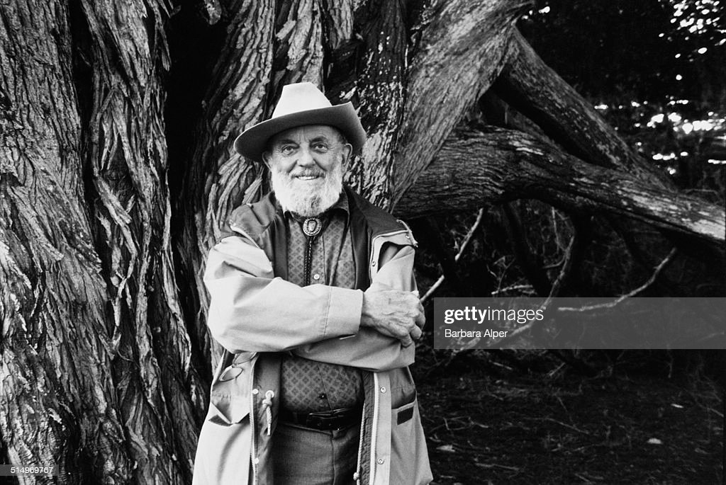 American photographer <a gi-track='captionPersonalityLinkClicked' href=/galleries/search?phrase=Ansel+Adams&family=editorial&specificpeople=125124 ng-click='$event.stopPropagation()'>Ansel Adams</a> (1902 - 1984), California, 25th March 1983.