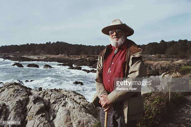 American photographer Ansel Adams California 25th March 1983