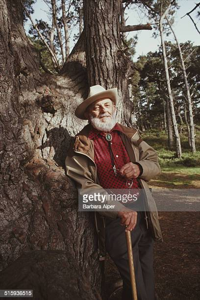 American photographer Ansel Adams California 25th March 1983