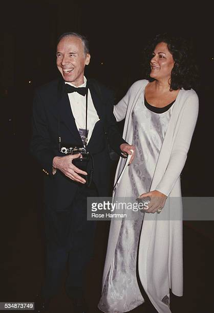 American photographer Bill Cunningham and Executive Director of the Council of Fashion Designers of America Fern Mallis 1994