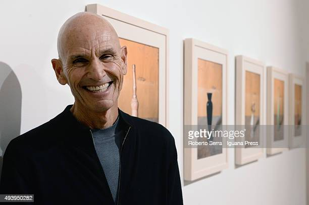 American photographer Joel Meyerowitz inaugurates his personal exhibition 'Morandi's Objects' about the work of italian artist Giorgio Morandi at...