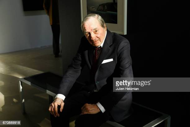 American Photographer William Eggleston attends 'Auto Photo' Exhibition Preview at Fondation Cartier on April 18 2017 in Paris France
